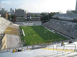 view seating charts georgia tech yellow jackets football at bobby dodd stadium section 218 view