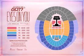 La Forum Concert Seating Chart