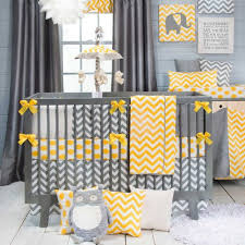 because baby nursery yellow grey gender neutral