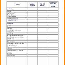 Budget Worksheet Mortgage New Excel Bud Spreadsheet Template Fresh ...