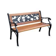 Patio Ideas 48 Inch Outdoor Bench Cushion Wood Garden Bench Diy