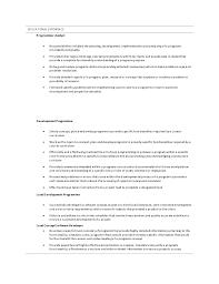 Programmer Analyst Cover Letter Sample Sample Cover Letter