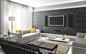 Wallpaper In Living Room Design Mesmerize Urban Living Room Decorating Ideas Elegant Urban Living