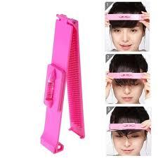 diy women hair trimmer fringe cut tool