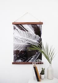 diy hanging half frame design sponge