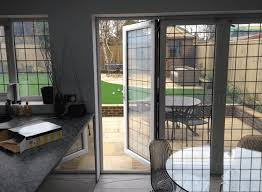 switchable smart glass bi fold doors switched to on