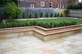 Small Picture Modren Garden Retaining Wall Used As And Seating E Throughout