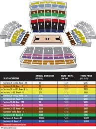 Vanderbilt Seating Chart Stadium Free Charts Library