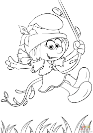 Download them or print online! The Smurfs Coloring Pages Tv Film Smurfette The Lost Village Printable 2020 09710 Coloring4free Coloring4free Com