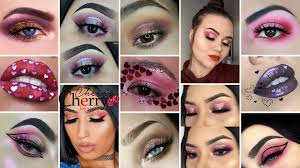 31 looks makeup for valentines day 2018