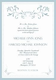 Party Invitation Generator Reception To Follow Wording Fresh Marriage Party Invitation