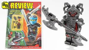LEGO NINJAGO HANDS OF TIME ACTIVITY BOOK VERMILLION MINIFIGURE REVIEW -  YouTube