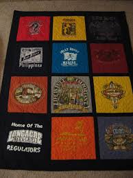 T Shirt Quilt Pattern With Different Size Blocks Enchanting TShirt And Jersey Quilts WandaLandQuilts