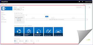 sharepoint online templates blog site project site and community site in sharepoint 2016