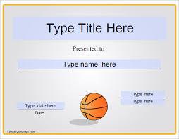14 Basketball Certificate Templates Psd Free Premium Templates