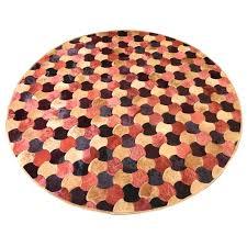 round cowhide rugs round cowhide rug by bunting and cowhide rugs
