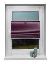 Thermorollo Lila 140 X 175 Cm Fenster Rollo Klemmfix Klemmträger