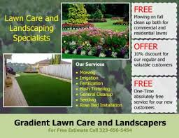 cleaning service advisement flyers 15 lawn care flyers free examples advertising ideas
