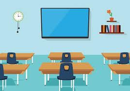 classroom table vector. free vector classroom table