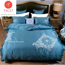 embroidered duvet cover quilt sets bamboo set verona
