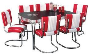 diner style table and chairs uk. american diner set - 6 x co27 chairs \u0026 1 to27 table style and uk