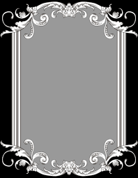 white antique picture frames. Custom Vintage Frame One By Kingoftheswingers Clipart White Antique Picture Frames 3