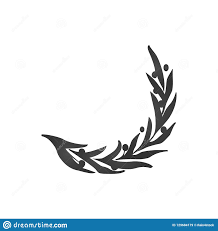 Branch Template Vector Olive Branch Isolated Logo Icon Illustration And