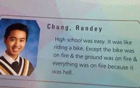 Best High School Senior Quotes Mesmerizing Best Description Of High School Funny High School Lol School Humor