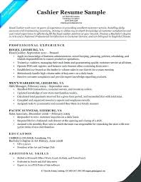 Cashier Resume Sample Unique Resume For A Cashier Me Sample Job No Experience Working Essay Work