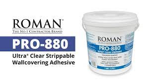ROMAN - PRO-880 Ultra Clear Strippable ...
