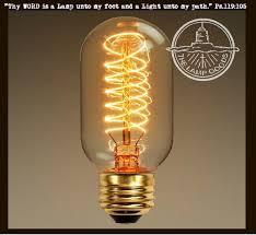 Edison Style Light Bulb for Mason Jar Lighting - 40 watts
