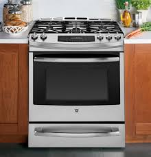 Professional Electric Ranges For The Home Frigidaire Professional Vs Ge Profile Gas Slide Ins Reviews