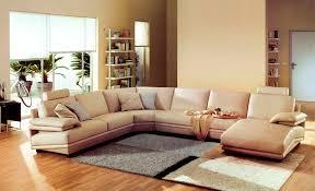 beige leather sofa upholstered leather sofa c pink l shape sofa rectangle fur carpet