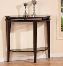 full size of half round console table espresso half moon console table console table demilune half