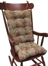 wooden rocking chair with cushion. Plain Rocking Rocking Chair Cushions Non Slip Jumbo Set Wooden Seat Replacement Only Adult With Cushion