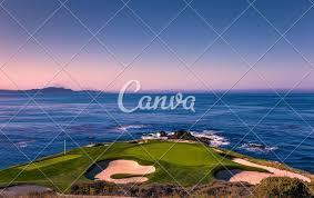 Designer Of Pebble Beach Golf Course Pebble Beach Golf Course Monterey California Usa Photos