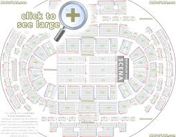 T Mobile Arena Las Vegas Seating Chart With Seat Numbers