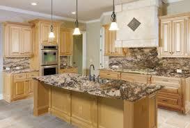 best granite countertops with oak cabinets