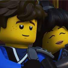 cutey pic of 'Jey' and 'Nya' - - -{#nya #jay #cole #kai #lloyd #senseiwu  #... #ninjago #legoninjagomovie #cartoonnetwork …   Lego ninjago nya, Jay  ninjago, Ninjago
