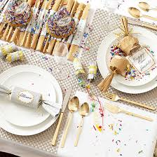 Simple New Year's Table Decorations