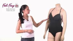 plus size strapless shapewear feel foxy backless body shaper youtube
