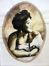 Mamie Smith Watercolor By Bonie Bolen   absolutearts.com