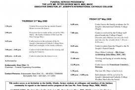funeral mass program 011 catholic funeral mass program thevillas co free service