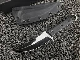 Special Offer SBK Fixed Blade Scimitar D2 <b>Titanium</b> Finish Blade ...