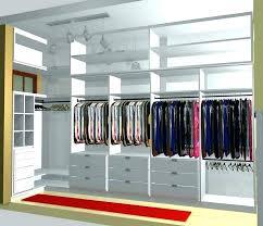 standard walk in closet dimensions eeigoinfo