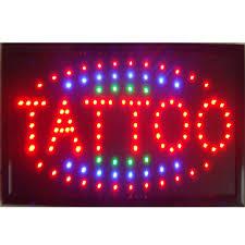 214771 руб 2017 светодио дный Led татуировки неоновые вывески прямые продажи на заказ