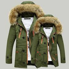 men s new winter coat fur collar couple coat hooded long section thick padded winter coat fashion casual jacket coat men s coat casual jacket with