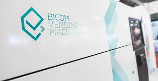 Bicom Vending Machine Custom Moltefacce Graphic Design Architecture Caso Di Studio Bicom