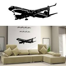 Small Picture Home Decor Vinyl Wall Decal Sticker Plane Air Boing Airbus