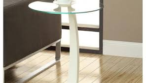 target table round end glass ashley small winning wood tables metal furniture top makeover black surprising